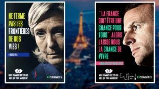 Le Pen corteja a la clase obrera y Macron se acerca a la juventud