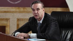 Pichetto adelantó que en febrero se votaría la ley de financiamiento de partidos políticos