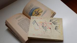 El Museo Nacional de Bellas Artes presentó una edición facsimilar de Borges Ilustrada por Xul Solar