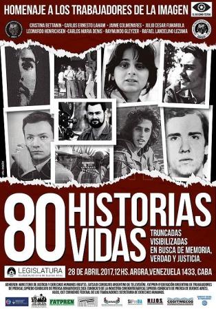 Homenajearán a reporteros gráficos, camarógrafos y directores de cine desaparecidos