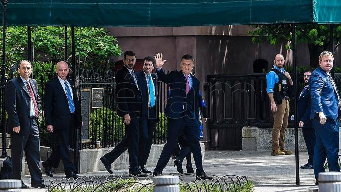 Macri y Trump acordaron profundizar la relación bilateral
