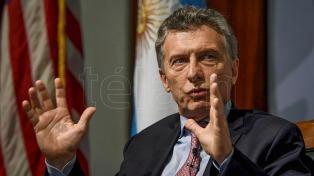 """Macri: """"Argentina está construyendo confianza después de ser incumplidores seriales"""""""