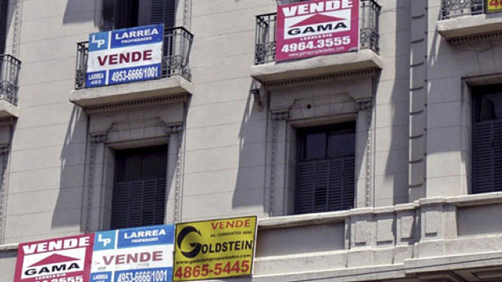 La venta de inmuebles cerró 2019 en su nivel histórico más bajo en la Ciudad