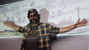 """En una charla Liniers destacó la importancia del """"caos creativo"""""""