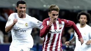 Real Madrid goleó al Atlético con un triplete de Cristiano Ronaldo