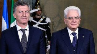 El Presidente de Italia visitará la Argentina acompañado por 40 empresarios
