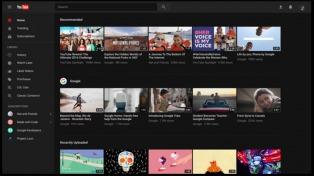 Youtube habilitó el nuevo diseño de su web