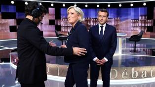 Durísimo debate entre Macron y Le Pen a tres días del balotaje presidencial