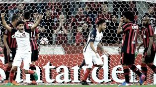 San Lorenzo goleó en Brasil y sigue con chances en la Libertadores