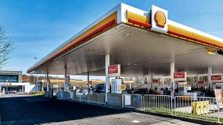 Shell aumentó los combustibles 9,5% desde medianoche
