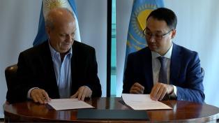 Argentina y Kazajistán firmaron acuerdo de cooperación