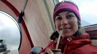Rescataron a la argentina varada en una montaña de Canadá