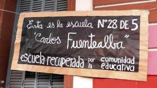 Inauguran una escuela para cien niños de 3 y 4 años en un edificio recuperado por vecinos
