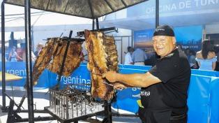 Con un asado de casi 200 kilos, Argentina se despide del Festival Gastronómico de Málaga