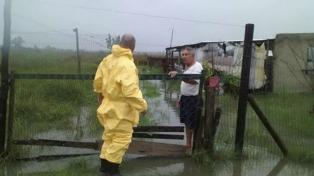 Nuevas lluvias empeoran la situación en la provincia