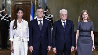 Este domingo arriba al país el presidente de Italia y el lunes se reúne con Macri