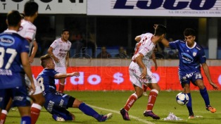 Atlético Rafaela goleó a Unión y sumó valiosos puntos para el promedio