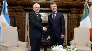 Argentina e Italia relanzaron su relación bilateral durante la visita de Mattarella