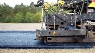 El consumo de asfalto vial en el primer cuatrimestre del año fue el mayor de la historia