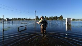 Hay ocho millones de hectáreas afectadas por el agua en la provincia, según CARBAP