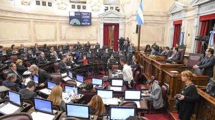 El Senado aprobó con un contundente consenso político la ley que limita el 2x1