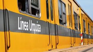 Comenzó la renovación en la línea Urquiza, sin afectar el servicio