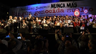 """""""En Argentina si hay algo que no existe, es una grieta con respecto a los derechos humanos"""""""