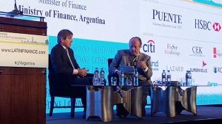 """Caputo afirmó que la política monetaria del BCRA es """"excelente"""""""