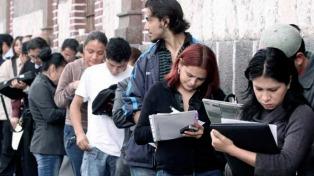 En noviembre cayó 1,4% interanual el total de trabajadores registrados