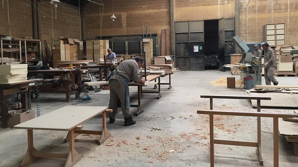 La producción maderera y de muebles bajó 10,7% en los primeros 10 meses de 2019