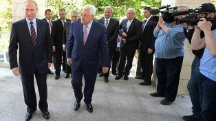 Abbas buscará que Putin participe en el proceso de diálogo de paz con Israel