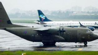 En abril se detectaron nuevos vuelos militares desde Malvinas hacia Brasil