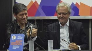 Con humor, Federico Pinedo y Abal Medina aceptaron someterse a la mirada de los neurocientíficos