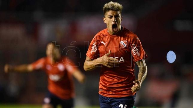 Independiente consiguió un triunfo agónico ante Huracán