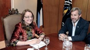 Alicia Kirchner anunció que retiene la gobernación de Santa Cruz por más del 55 %