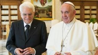 El papa Francisco visitará al presidente italiano el 10 de junio