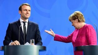 París y Berlín criticaron la actitud de Trump