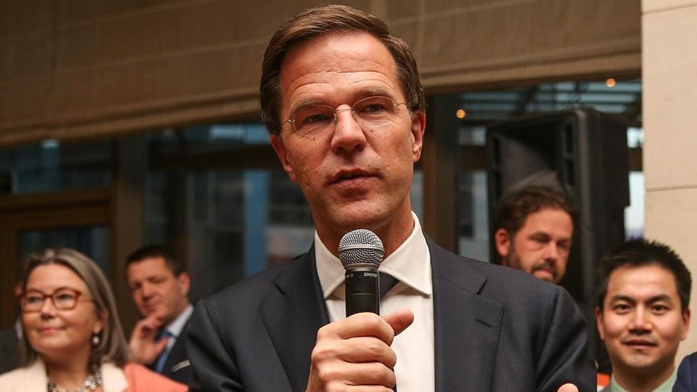 Mark Rutte, premier holandés
