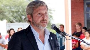 """Frigerio: """"La eventual candidatura de Cristina Kirchner tiene en vilo al peronismo, no a Cambiemos"""""""