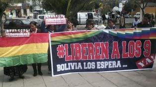Las madres de los bolivianos detenidos pidieron una audiencia con Bachelet