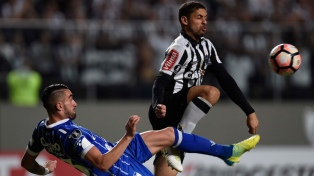 Atlético Mineiro supera a Godoy Cruz en Belo Horizonte