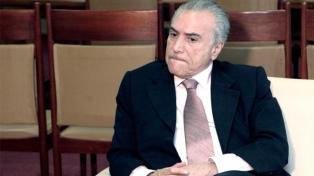 Un tribunal ordena volver a detener al ex presidente Temer