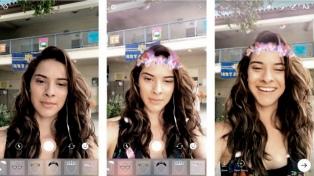 Instagram incorporó filtros animados similares a los de Snapchat