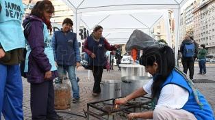 Barrios de Pie reclamó la emergencia alimentaria con movilizaciones