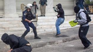 Protestas e incidentes en la primera huelga general del año