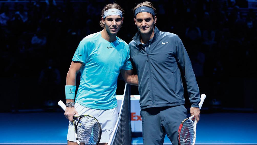 Federer y Nadal jugarán en el mismo equipo de la Rod Laver Cup
