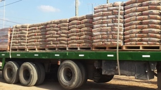 Los despachos de cemento aumentaron 23,3% en octubre