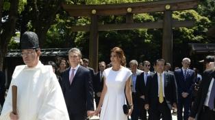 El Presidente llega a Yakarta, primera escala antes de Japón
