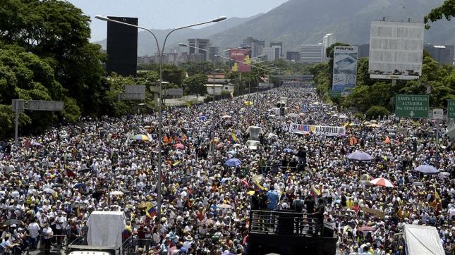 La oposición desconocerá al Gobierno de Maduro y llama a protesta permanente