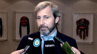Frigerio mostró preocupación por la situación de la educación en Santa Cruz, que lleva 43 días sin clases